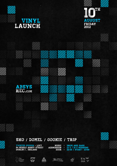 2012.08.10 - Absys Records Vinyl Launch - Twisted Pepper @ Dublin