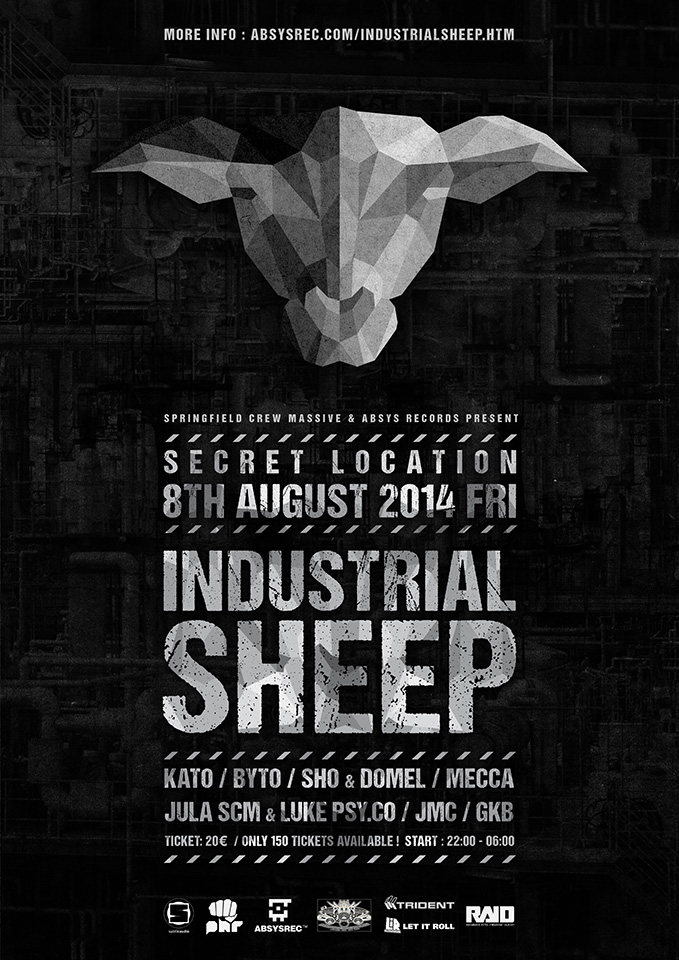 2014.08.08 - Industrial Sheep - Secret Location @ Dublin